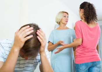 Family member disbute